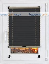 Прямоугольные формы, Шторы плиссе.Виста перл 9231, черный от производителя жалюзи и рулонных штор РДО