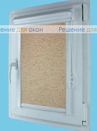 Витео плюс на створку окна, Витео плюс АЛЛЕГРО ЛЁН 1030 от производителя жалюзи и рулонных штор РДО