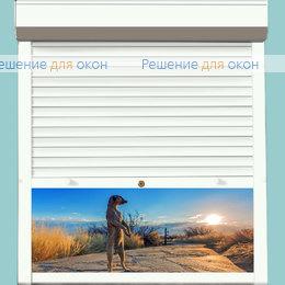 Рольставни для окон, Профиль PD45/N Белый от производителя жалюзи и рулонных штор РДО