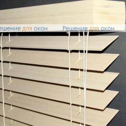 Жалюзи горизонтальные 50 мм, арт. Bleached White  бамбук от производителя жалюзи и рулонных штор РДО