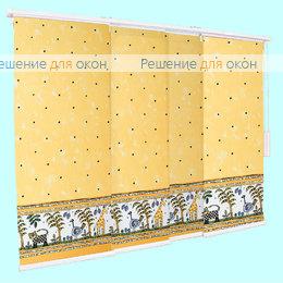 3 - рядный карниз, Японская штора РТ  3-х рядный карниз АФРИКА Б/О от производителя жалюзи и рулонных штор РДО