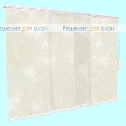 4 - рядный карниз, Японская штора РТ  4-х рядный карниз КЛАУДИА B/O 100 white от производителя жалюзи и рулонных штор РДО