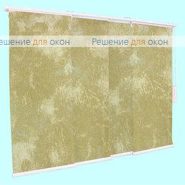 4 - рядный карниз, Японская штора РТ  4-х рядный карниз КЛАУДИА B/O 200 beige от производителя жалюзи и рулонных штор РДО