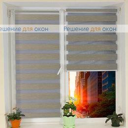 Компакт Зебра на створку окна, Компакт Зебра  Шенилл 202 от производителя жалюзи и рулонных штор РДО