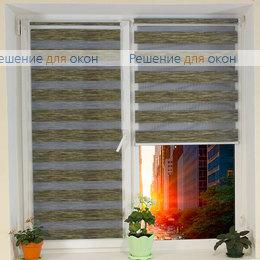 Компакт Зебра на створку окна, Компакт Зебра  Шенилл 205 от производителя жалюзи и рулонных штор РДО