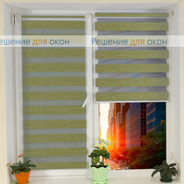 Компакт Зебра на створку окна, Компакт Зебра  Шенилл 208 от производителя жалюзи и рулонных штор РДО