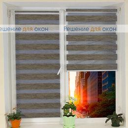 Компакт Зебра на створку окна, Компакт Зебра  Шенилл 215 от производителя жалюзи и рулонных штор РДО