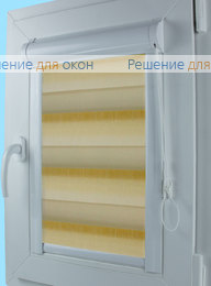 Уни Зебра ОМБРЕ 1 светло-бежевый от производителя жалюзи и рулонных штор РДО