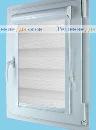 Вегас Зебра на створку окна, Вегас Зебра КАСКАД 1, белый от производителя жалюзи и рулонных штор РДО