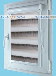 Вегас Зебра ОМБРЕ 9, серый от производителя жалюзи и рулонных штор РДО