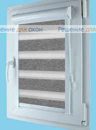 Вегас Зебра ВЕГА 11, серый от производителя жалюзи и рулонных штор РДО