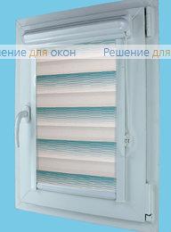 Витео плюс Зебра КАСКАД 7, морская волна от производителя жалюзи и рулонных штор РДО