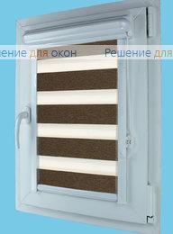 Витео плюс Зебра ВЕГА 13, темно-коричневый от производителя жалюзи и рулонных штор РДО